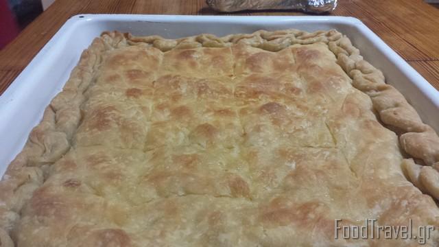 Πίτα με σπιτικό φύλλο